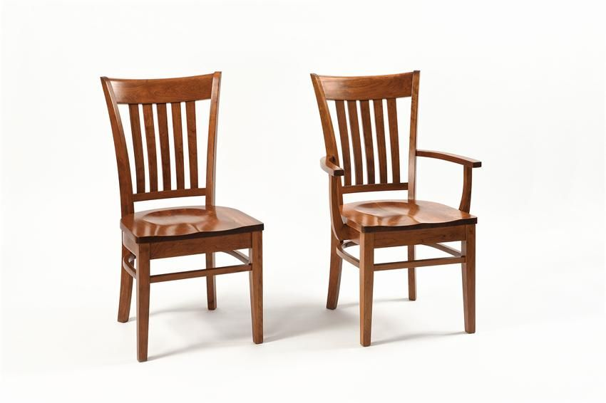 Beau Room · Amish Harper Contemporary Shaker Dining Room Chair