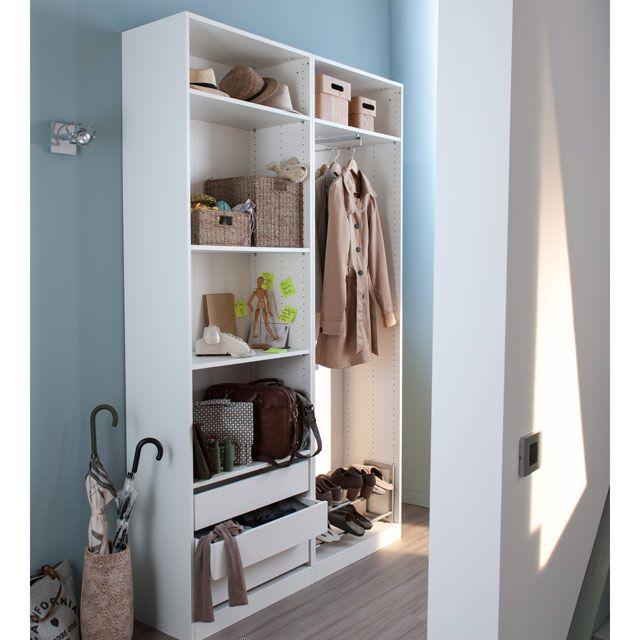 dressing entr e couloir concept darwin castorama entr es couloirs pinterest. Black Bedroom Furniture Sets. Home Design Ideas