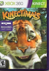 Kinectimals Xbox 360 Game Best Xbox 360 Games Xbox 360 Games