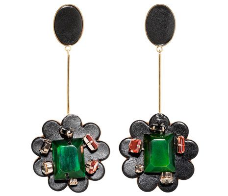 60s: Marni earrings - Fabulous at Every Age: Resort Chic