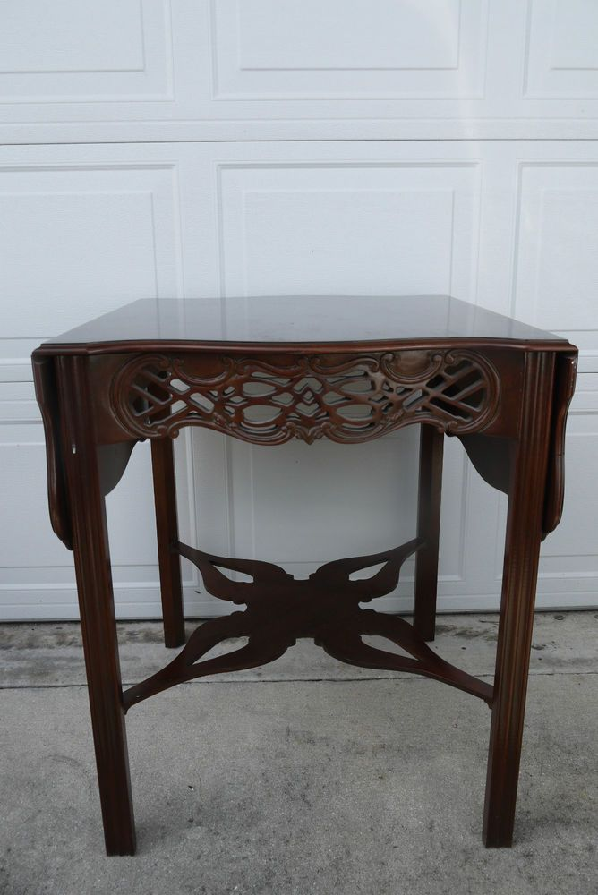 Baker Furniture Historic Charleston Mahogany Chippendale