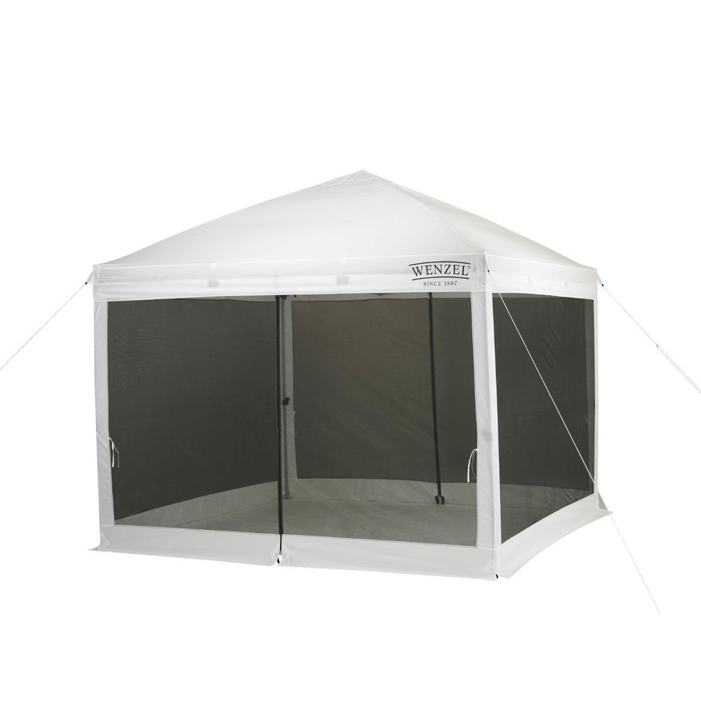 Screened Canopy Mosquito Bug Net Tent Pop Up Gazebo Outdoor Event Dining Party  sc 1 st  Pinterest & Screened Canopy Mosquito Bug Net Tent Pop Up Gazebo Outdoor Event ...