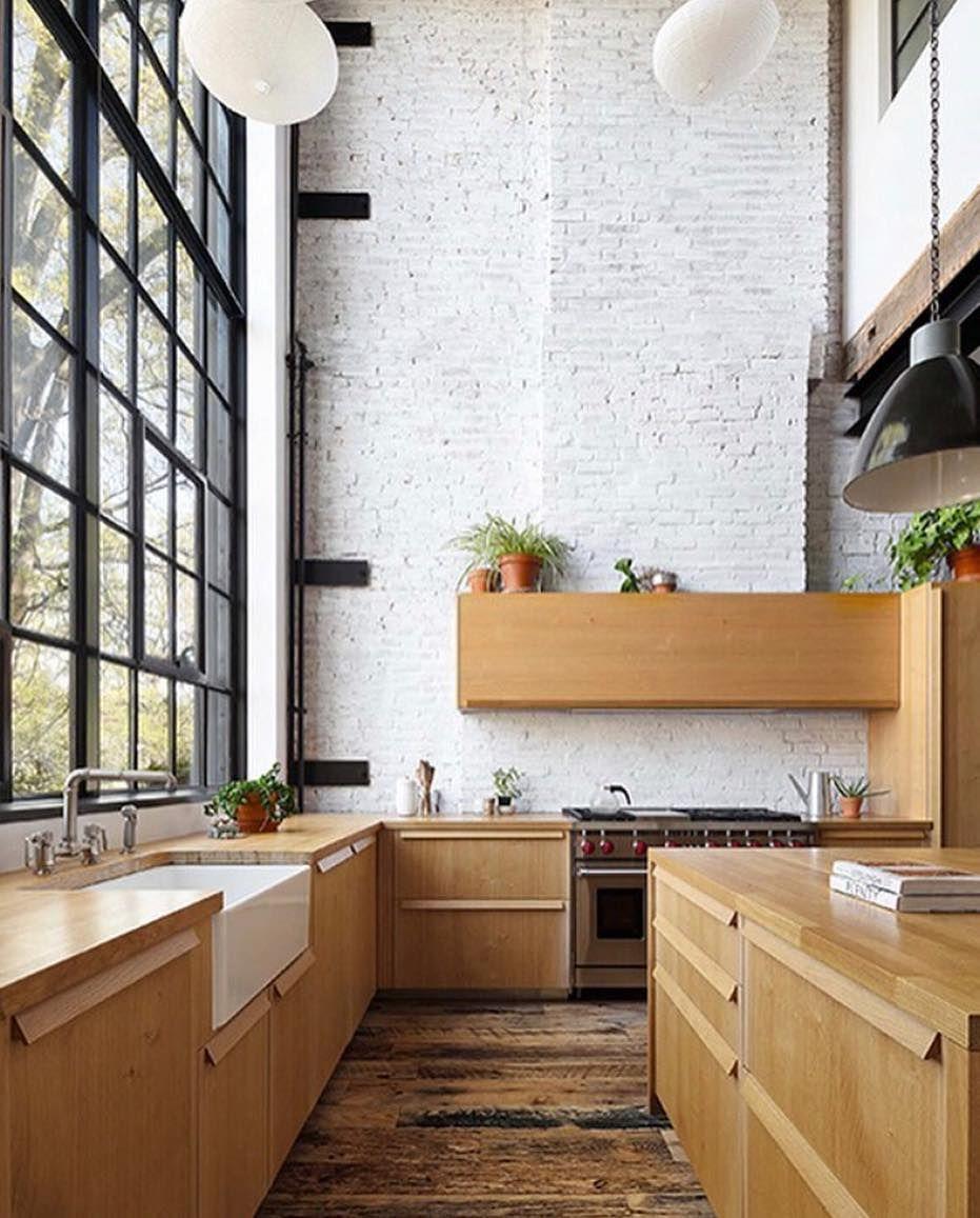 Brooklyn Industrial Loft Apartments: Clinton Hill Townhouse, #Brooklyn, New York By