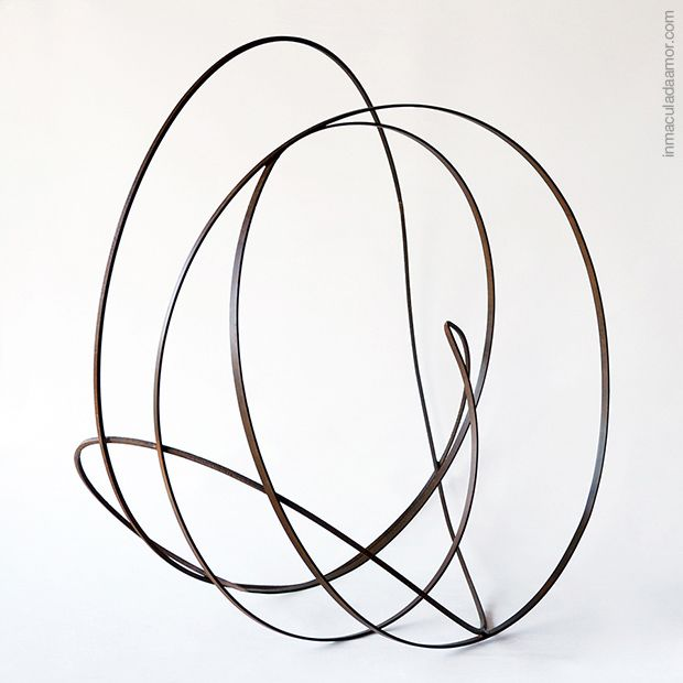 Sculpture Contemporary, 2014, Fuerza Interior, hierro, autora Inmaculada Amor.inmaculadaamor.com