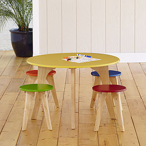 Worldmarket Table Kids Activity Stool Dining