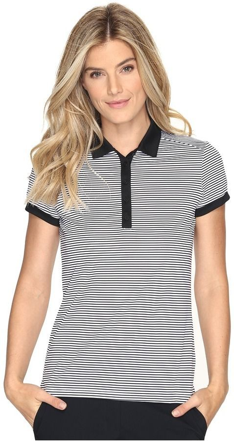 3046f3fe8416b Nike Victory Stripe Polo Women's Short Sleeve Pullover | Products ...