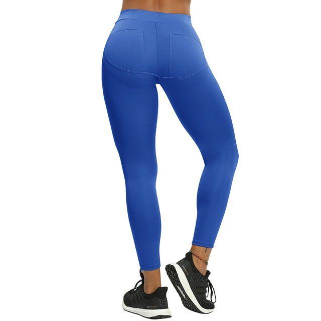e76b85adea194 Oberlo - NORMOV S-XL 3 Colors Casual Push Up Leggings Women Summer Workout  Polyester Jeggings Breathable Slim Leggings Women