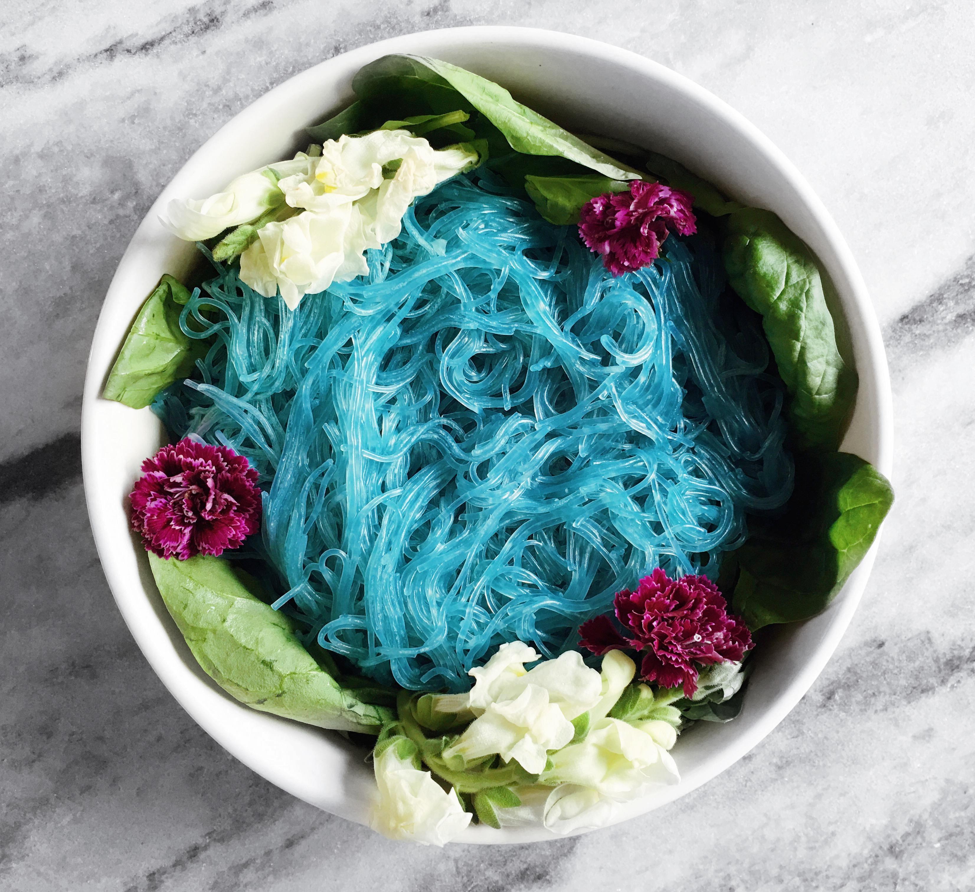 Natural Blue, purple, pink noodles. | Mmmmmmmm yes. | Pinterest ...