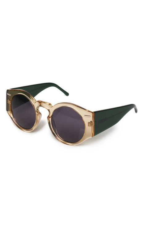 Lunettes rondes en or style Willy Wonka MJm62a4h