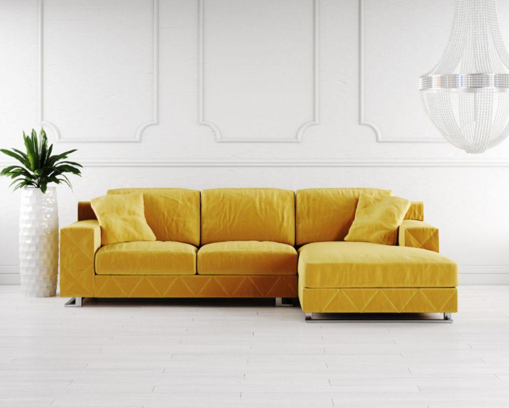 Stylo Fabric Corner Sofa Decoracion De Unas Decoraciones De Jardin Jardines