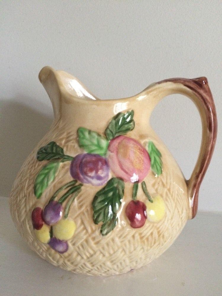 Shorter And Son England Decorative Pitcher Majolica Circa 19th C Ebay Pottery Art British Art Majolica