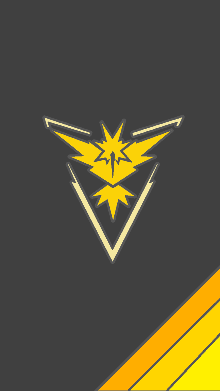 Team Instinct Mobile Wallpaper Pokemon Go Team Instinct Pokemon