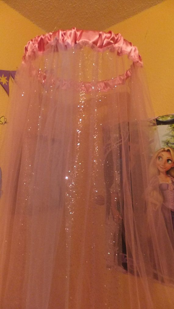 Hey, I found this really awesome Etsy listing at https://www.etsy.com/listing/154031160/tulle-bed-canopy