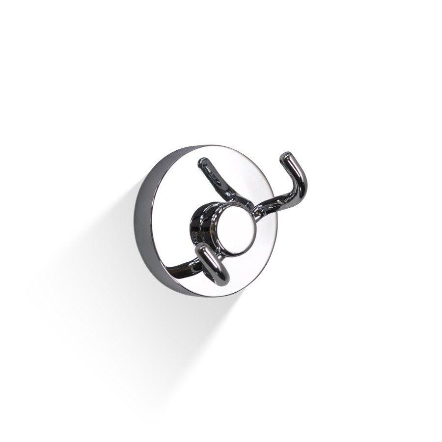 DW WH 3 Double Bathroom Hook in Chrome | Bathroom hooks, Chrome, Accessories