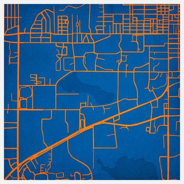 Gainesville, I miss you. University of Florida Print now featured on Fab.
