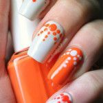 35 Orange Nail Art Designs with Black, White, Blue, Pink, Yellow Images - Creative Art Blog