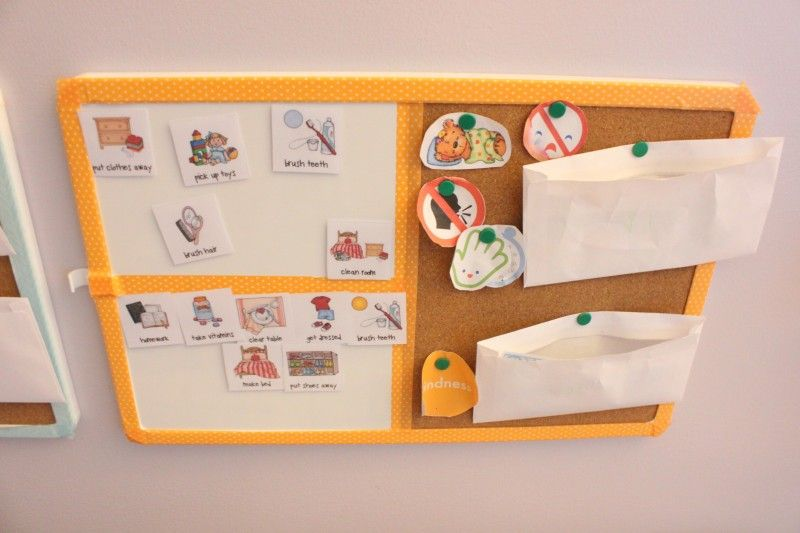 DIY easy chore chart that your preschoolers will actually want to use!