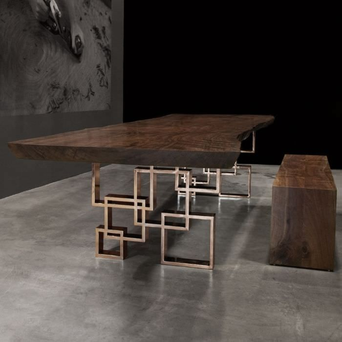 Contemporary Table In Wood Indoor