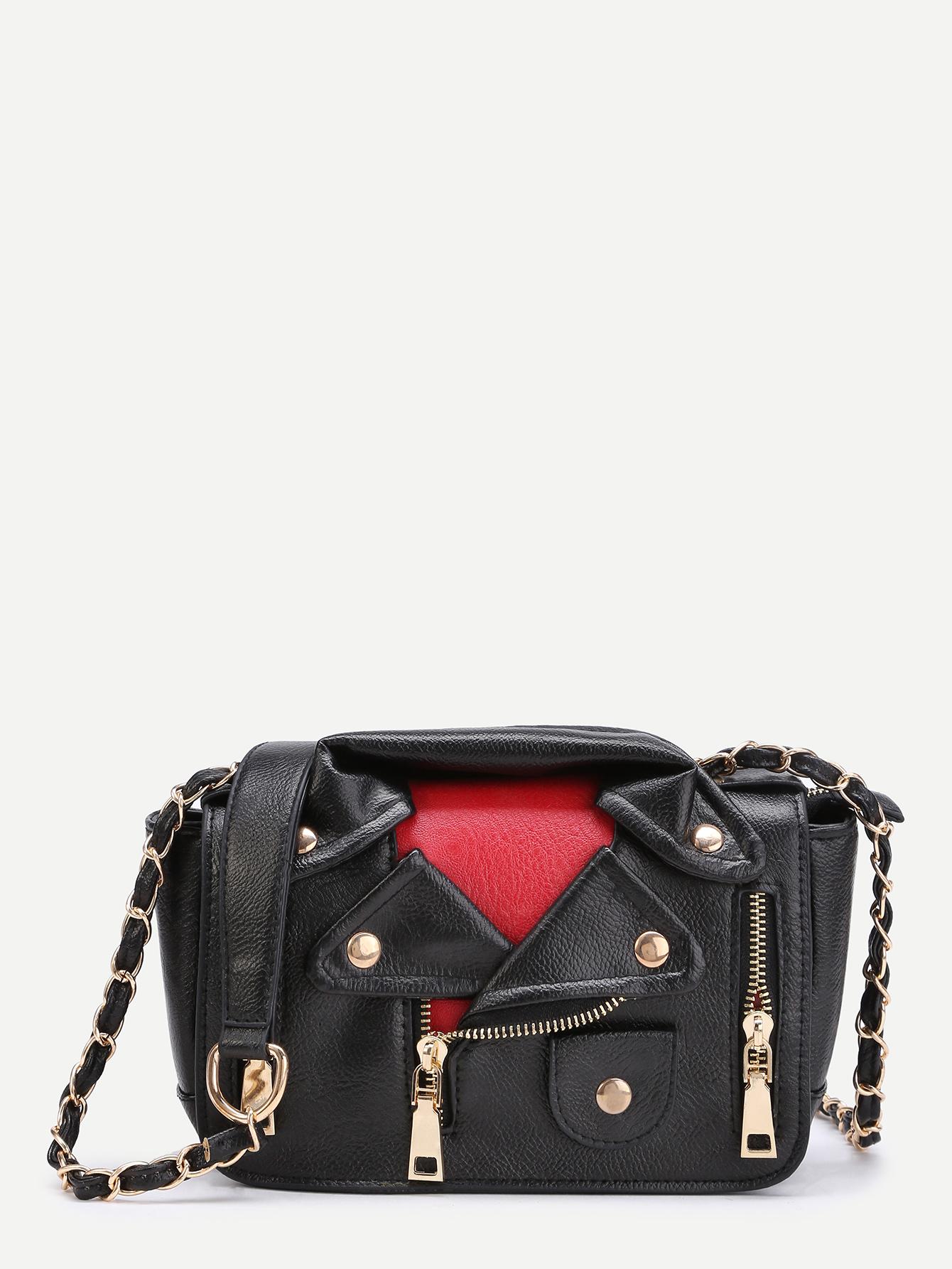 e5935a9d362 Shop Jacket Shaped Shoulder Bag online. SheIn offers Jacket Shaped Shoulder  Bag & more to fit your fashionable needs.