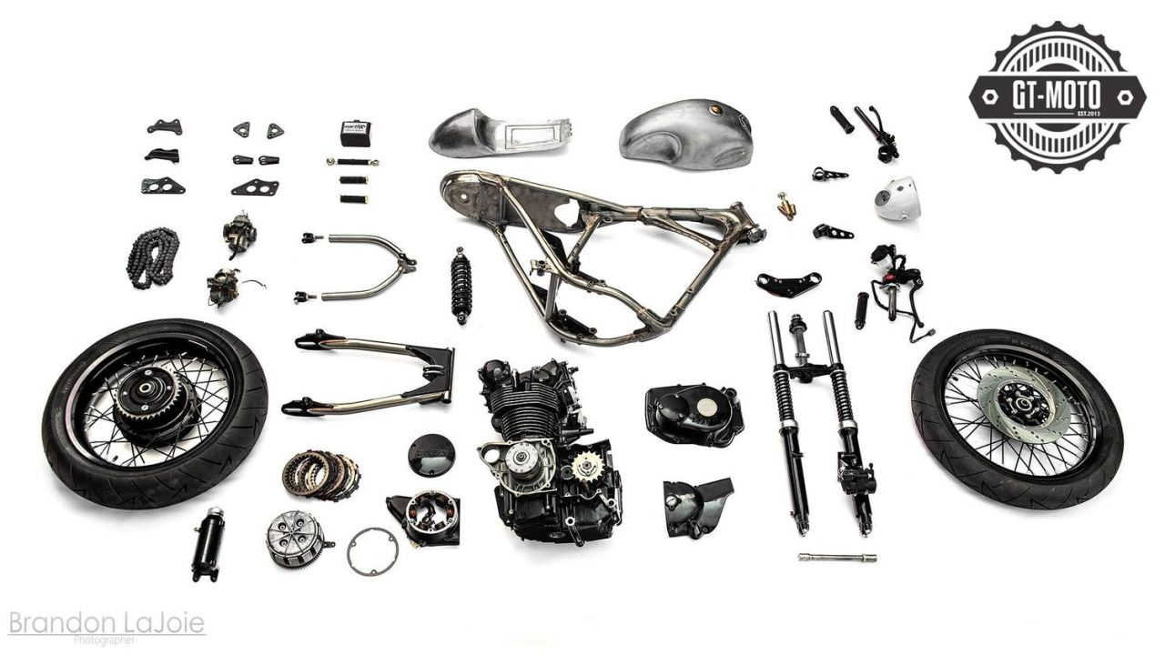 cafe racer partsgt moto #motorcycles #caferacer #motos