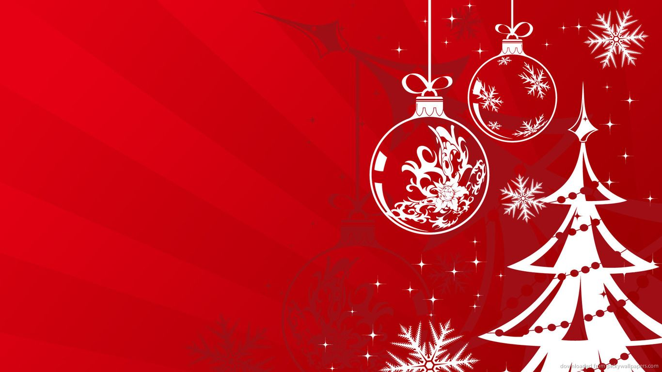 Red and white christmas wallpaper | Wallpaper Wide HD | Wallpapers ...