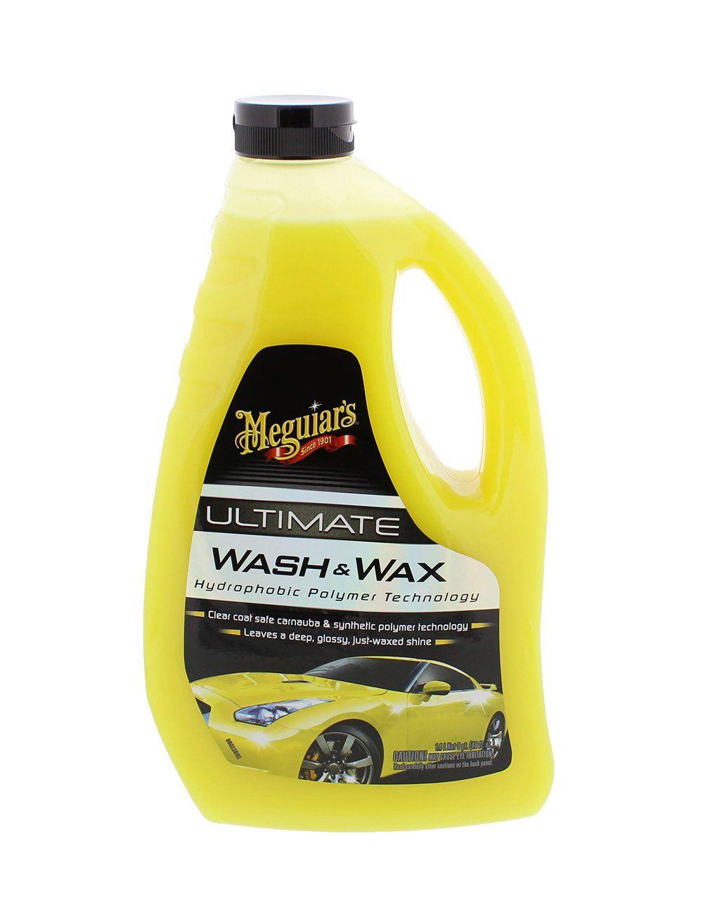 Meguiars G17748 Ultimate Wash and Wax 48 oz. Wax, Car