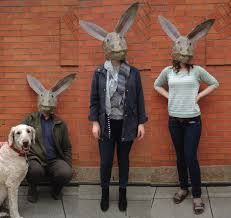 rabbit head. by MILK AND BREAD