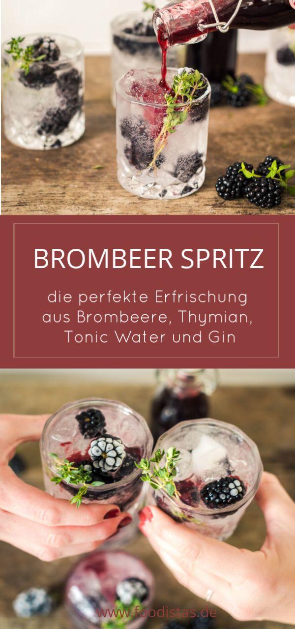 Brombeer Spritz #imthirsty