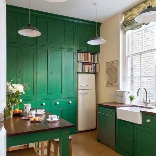 green is absolutely a beautiful shade for your kitchens it is vivid and awesome at the exact on kitchen ideas emerald green id=53315