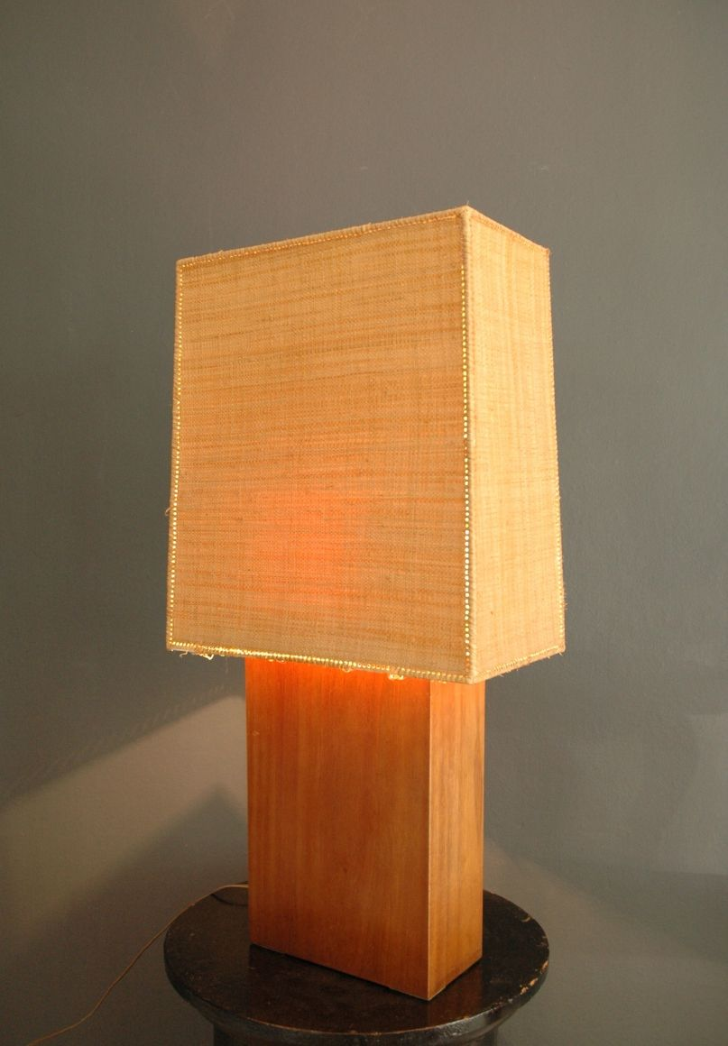 Lamp By Clara Porset Mexico 1950s Lamp Lamp Shade Lamp Light