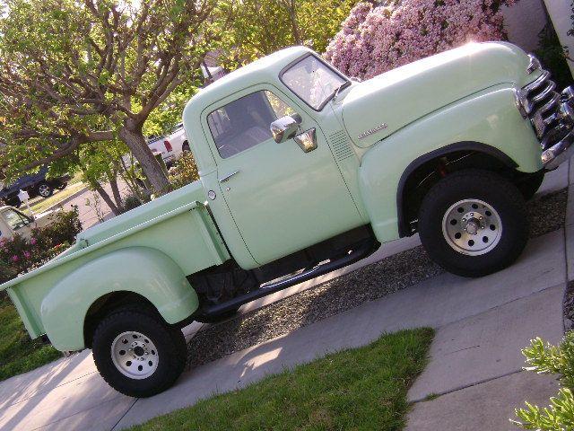 1949 Chevy truck- 4x4 | 49 chevy | Pinterest | 4x4, Chevy ...