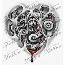 Image Result For Clockwork Tattoo Design Tattoo Designs Clockwork Tattoo Heart Tattoo Designs