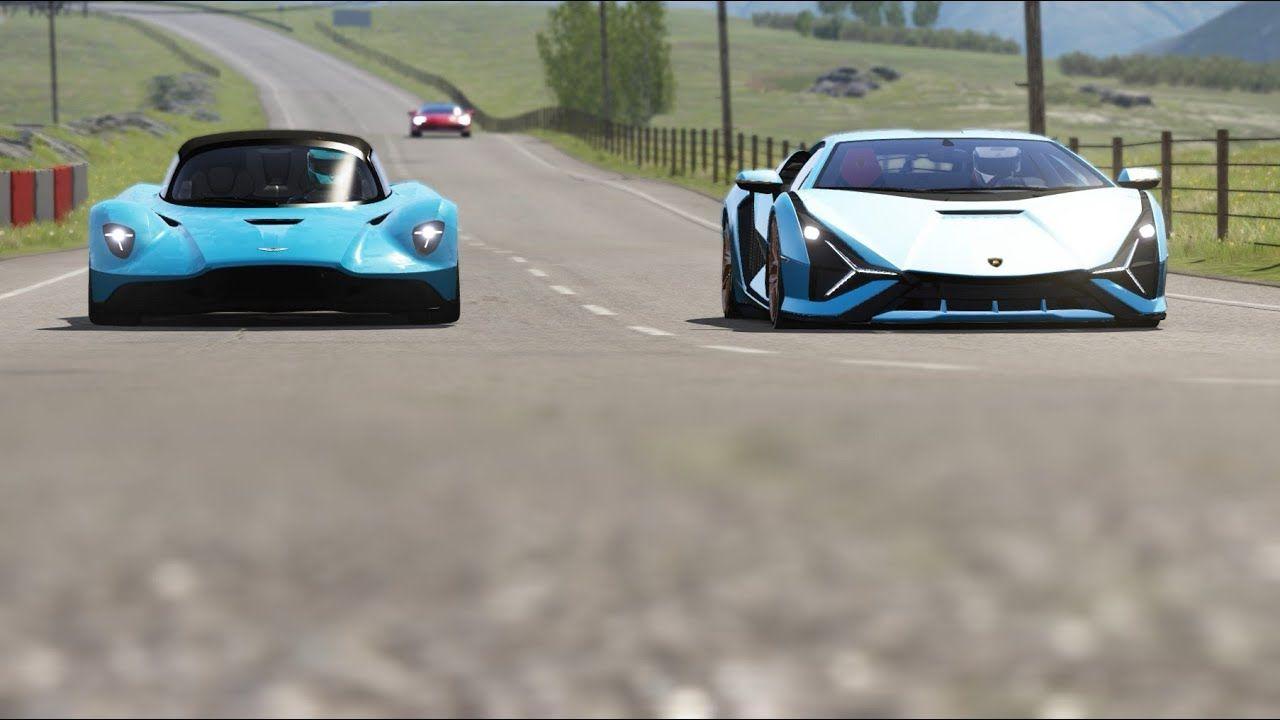Aston Martin Valhalla Vs Lamborghini Sian Vs Ferrari Sf90 Stradale At Hi Lamborghini Aston Martin Ferrari