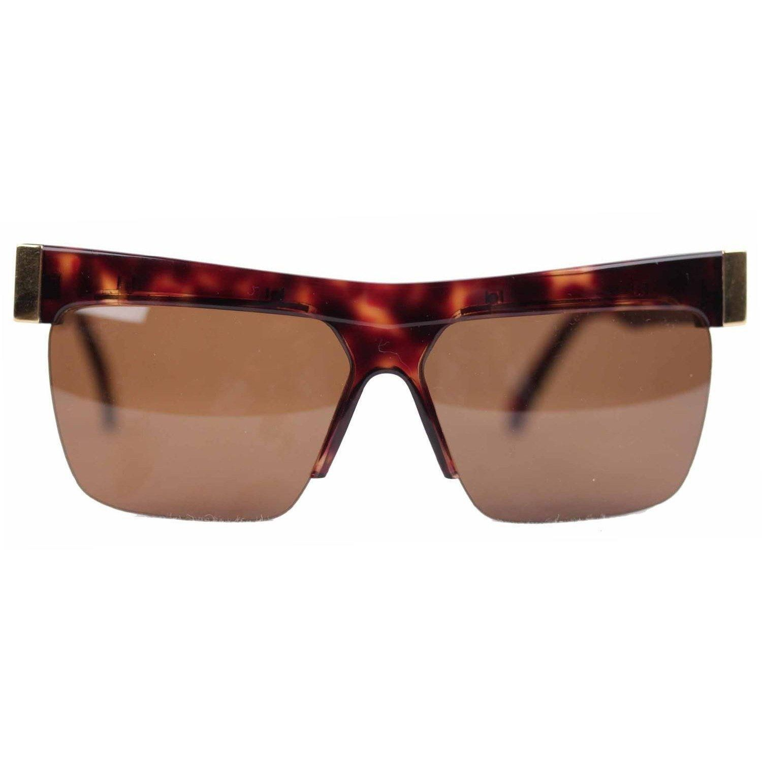 Gianni Versace Safety Pin Sunglasses Mod 427 Col 279 At: Gianni Versace Vintage Gold Brown Unisex Sunglasses Mod