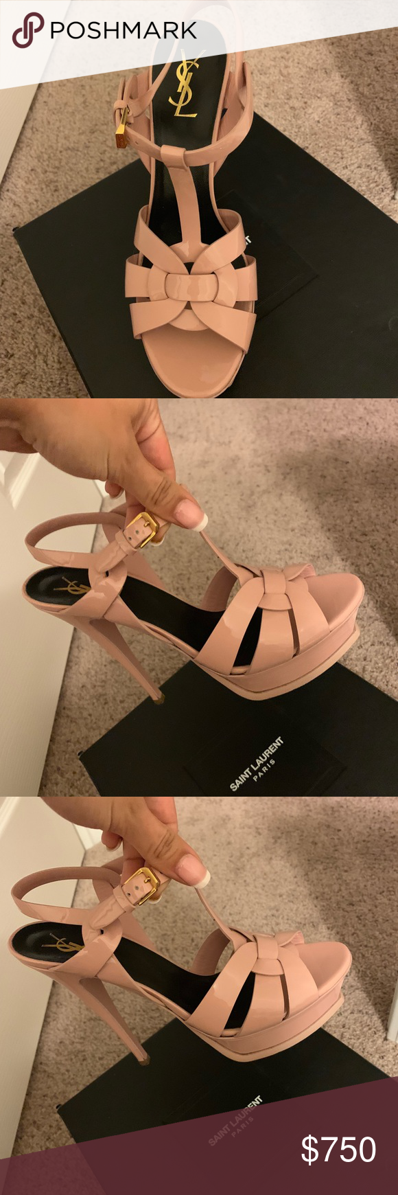Yves Saint Laurent Heels Yves saint laurent shoes, Ysl