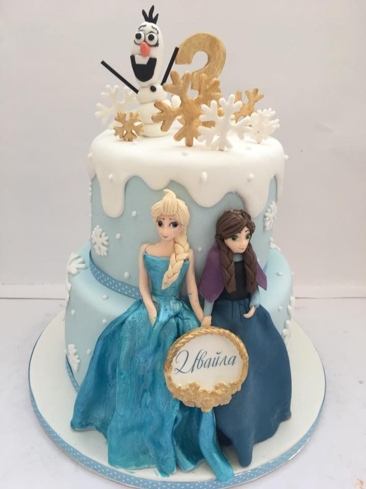Frozen Cake Frozen Anna Elsa Com Imagens Bolo Aniversario