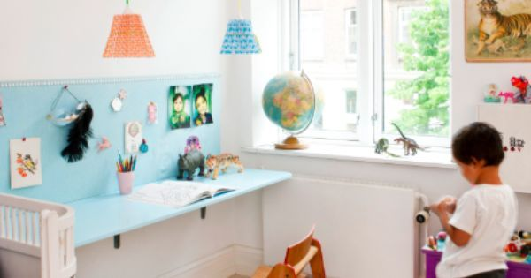 Babble shares with us about 10 Scandinavian Inspired Kids Rooms