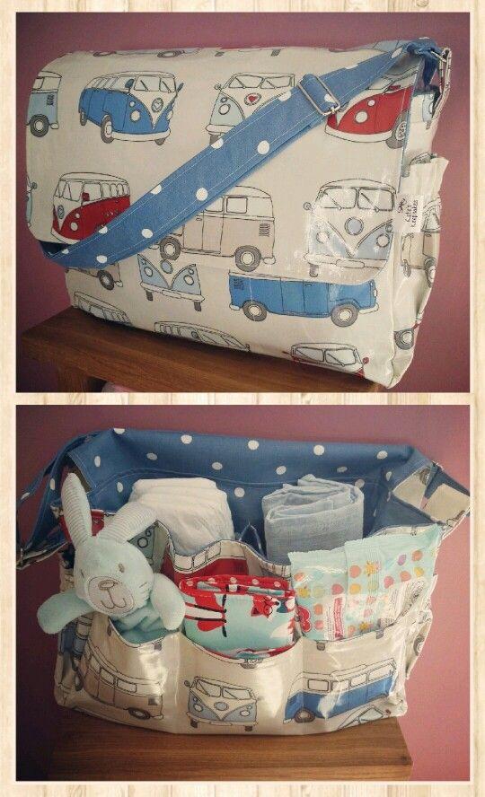Enjoyable Campervan Changing Bag With Blue Polka 50 Facebook Com Gamerscity Chair Design For Home Gamerscityorg