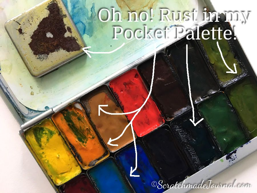 Expeditionary Art Pocket Palette Review Palette Diet Food List