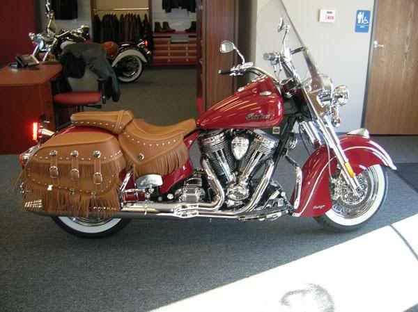Indian Chief Vintage Model Red Vintage Indian Motorcycles