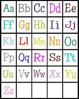 Abcs bingo free printable holiday gift idea pinterest free abcs bingo free printable spiritdancerdesigns Image collections