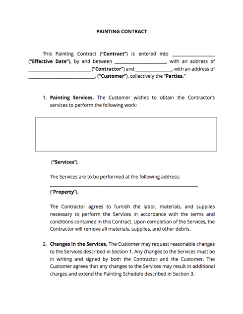 Contract Templates And Agreements With Free Samples Docsketch Contract Template Document Templates Contract Agreement