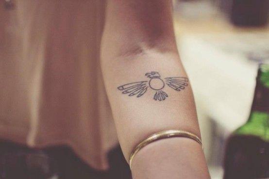 Thunderbird Tattoo The Thunderbird Is A Native American Symbol For
