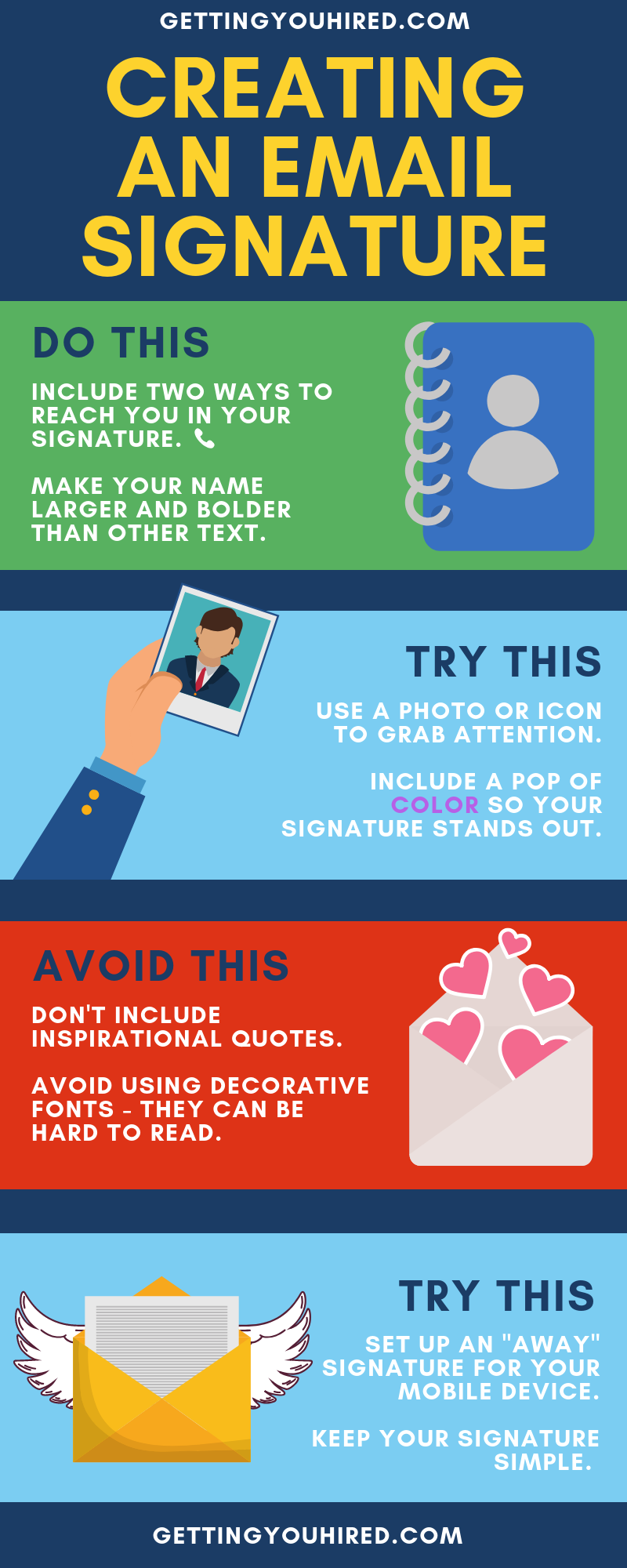 How to Make an Email Signature Email signatures