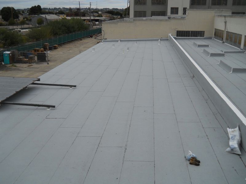 Cool Roof Sbs Modified Bitumen Industrial Roofing Ben S Roofing Cool Roof Commercial Roofing Roofing