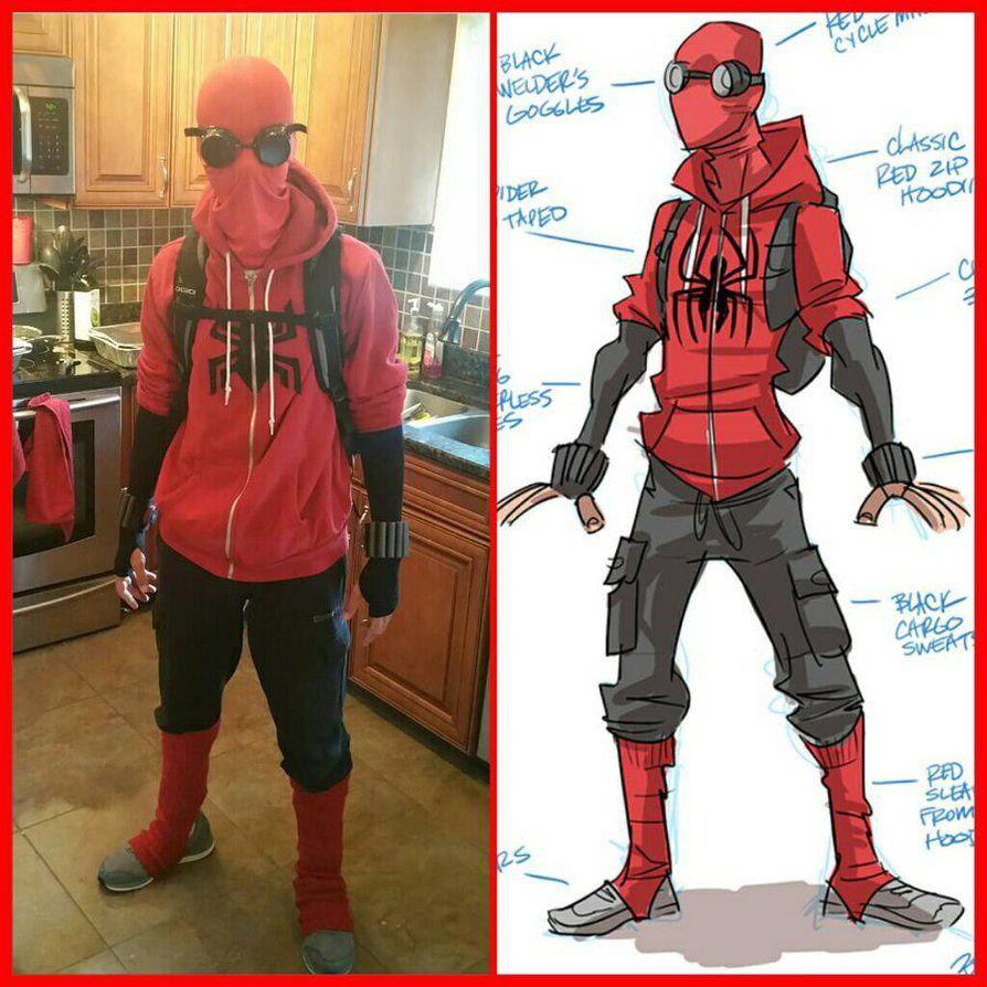 Spiderman Cosplay By BTURNERart