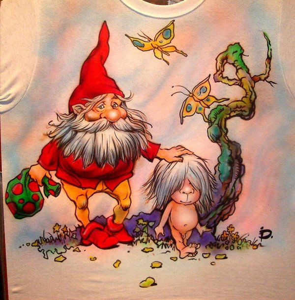 волшебные сказочные тролли и гномы открытки гифки аккуратной консоли или