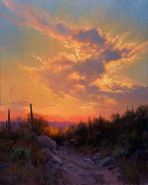 Landscape Paintings Sunset