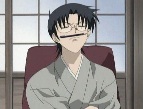 Shigure S Pencil Stache Anime Another Anime Tonari No Kaibutsu Kun