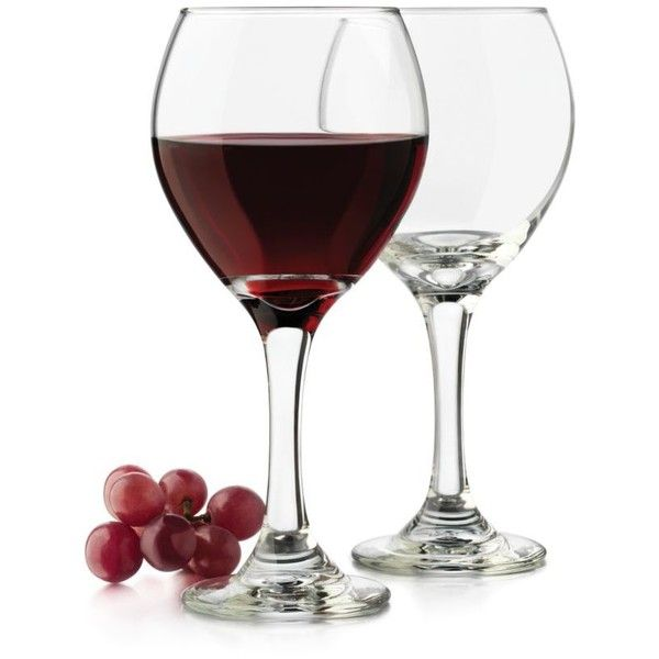 Libbey Clear Classic Set Of 4 Red Wine Glasses (36 BRL) ❤ liked on Polyvore featuring home, kitchen & dining, drinkware, decor, wine, clear, wine goblets, libbey drinkware, red wine glass and red wine glasses
